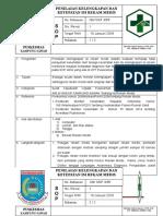 8.4.4.2 SPO Penilaian Kelengkapan Dan Ketepatan Isi Rekam Medis