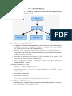 ORGANIZACIÓN LINEAL Funcional y Centralizada