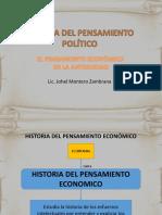 1.- Historia Del Pensamiento Economico