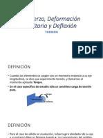 Esfuerzo, Deformación Unitaria y Deflexión.pptx