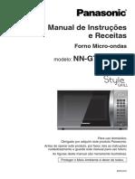 Panasonic Microwave  - Manual de Instruções e Receitas