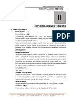 ESPECIFICACIONES TECNICAS  DE PISTAS Y VEREDAS