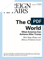 Open World - FOREIGN AFFAIRS