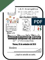 Exam Mensual Octubre Historia Del Perú 2018