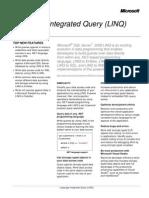 Microsoft LINQ - Datasheet
