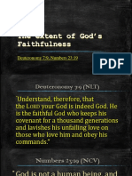 The extent of God's Faithfulness.pptx