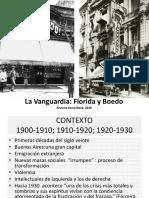 La Vanguardia-Florida y Boedo