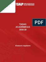 Tasas Academicas Alumnos Regulares