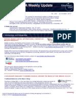 EdUSA Weekly Update No 202 October 25 2010