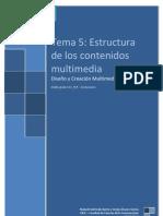 Tema5 Estructura de Los Contenidos Multimedia