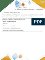 Fase 2 - Evaluación 1 Espacio Muestral, Eventos y Técnicas de Conteo