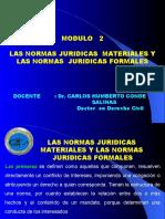 MODULO 2 - LAS NORMAS JURIDICAS  MATERIALES.ppt