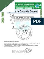 practicas de la capa de ozono