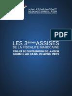 Projet de Contribution de La Cgem Aux Assises de La Fiscalite-1-1