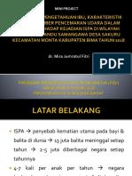 dr. MIRA JUMRATUL FITRI - GAMBARAN PENGETAHUAN IBU, KARAKTERISTIK BALITA, SUMBER PENCEMARAN UDARA DALAM RUANG TERHADAP KEJADIAN ISPA DI WILAYAH KERJA POSYANDU SAMANGAWA DESA SAKURU KECAMATAN MONTA  TAHUN 2018.pptx