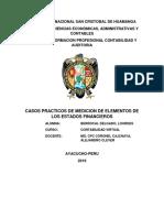 BASES DE MEDICION DE   ELEMENTOS DE LOS ESTADOS FINANCIEROS.docx
