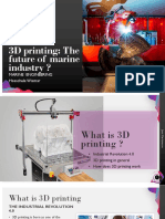 3d Printing in Marine Industry