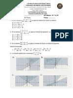 Cuestionario de Matemáticas  II Quimestre Coronela Filomena Chavez M 2017-2018 10° EGB