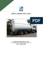 Manual de operación y mantenimiento de tanque cisterna Bozza