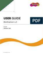 BioStation L2 User Guide