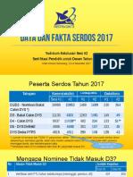 Data Dan Fakta Serdos 2017