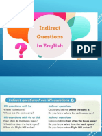 Direct and Indirect Questions (1)