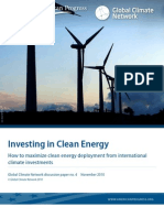 Investing in Clean Energy