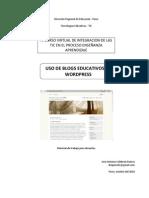 Uso de Blogs Educativos en Wordpress PUNO