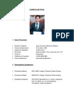 CV Jason Martínez Orellana