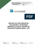 Instrucivo reporte de afiliaciones y novedades SAT.pdf