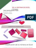 Elementos de La Ventana de Excel
