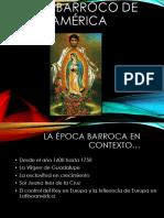 ppt barroco latinoamericano