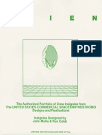 The Authorized Portfolio of Crew Insignias From the UNITED STATES COMMERCIAL SPACESHIP NOSTROMO Designs and Realizations