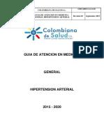 Guia Hipertension Arterial c Externa 2015 2020 Ccc