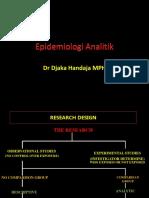 Epidemiologi Analitik Dr.djaka