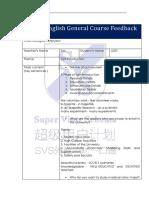 Judy (April 23, 2019) General Course Feedback Form