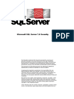 SQL Server 7.0 Security