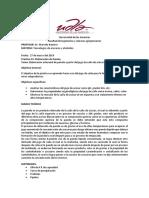 Alcoholes Practica 1 Elaboracion de Panela.