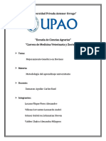 Informe de Metodologia - Mejoramiento Genetico -Universidad Privada Antenor Orrego