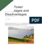 Solar Power Advantages and Disadvantages.docx
