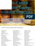 2008 Global Private Equity & Venture Capital Contact Directory