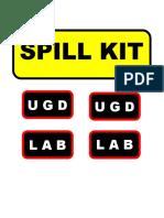 SPILL KIT.docx