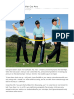 Get Your Swing Back With One Arm