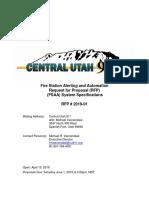Central Utah 911 Fire Alerting Final