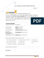 QS Global Employer Survey 2014(2)