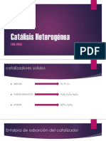 Catálisis Heterogénea