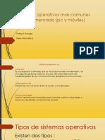 Diapositiva Informatica Sistemas Operativos