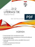 Literasi TIK-Pengelolaan Informasi
