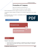 Formation of Company.docx