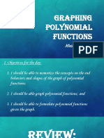Graphing Polynomial Functions (2)